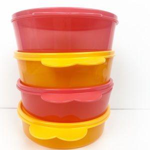 New!Tupperware Big wonder bowls set of 4